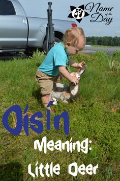 Name of the Day: Oisín | Dances with Diapers