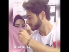 Muslim couple cute love