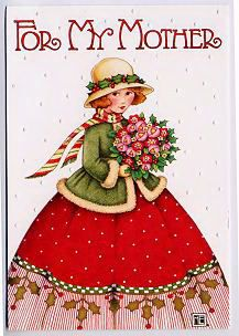 Christmas Illustration by Mary Engelbreit. Christmas Art, Vintage Christmas, Christmas Holidays, Mary Christmas, Christmas Ideas, Mary Engelbreit, Free Family Tree, Illustrations, Paper Dolls