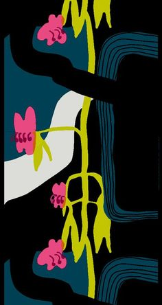 Sorja by Jenni Tuominen, Marimekko Fall 11. #fabric #marimekko