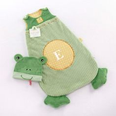 sleapy Baby Frog Snuggle Sack -unique baby gift
