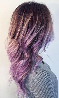 Love this lilac ombré
