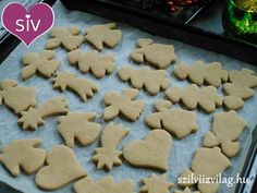 Gingerbread Cookies, Christmas Cookies, Gluten Free Recipes, Healthy Recipes, Sugar Free, Make It Simple, Dairy Free, Clean Eating, Food And Drink