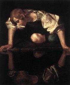 """""""Narciso"""" Michelangelo Merisi da Caravaggio, 1545"""