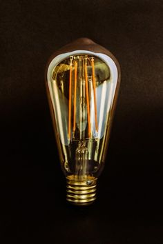 Dimmable 4W Tinted LED Squirrel Cage Bulb - E27 SCREW FITTING