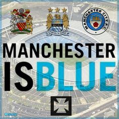 Manchester Is Blue MCFC