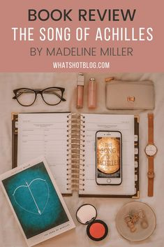 The Song of Achilles by Madeline Miller is one of the best and most famous Greek myth retellings out there right now. Find out what I thought of it in my book review. #whatshotblog #bookreview #booklovers #bookblogger #bookblog