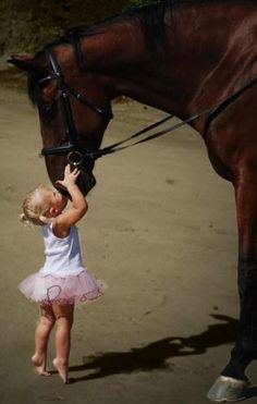 Come down here Horsey so I can kiss those big lips!