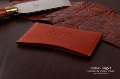 mini peněženka z kůže