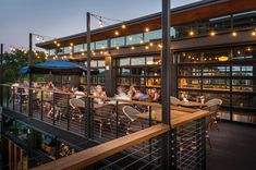 These restaurant patios are not only killer spots for enjoying summer. Afoodionados will be appeased, too. Restaurant Exterior Design, Outdoor Restaurant Design, Restaurant Facade, Sport Bar Design, Retail Facade, Coffee World, Commercial Complex, Steel Structure, Courtyards