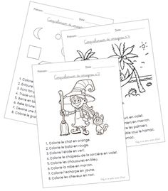 activities elementary / activities elementary & activities elementary school for kids & activities elementary school French Language Lessons, French Lessons, Home Learning, Early Learning, French Education, French Classroom, French School, Language Activities, School S
