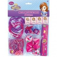 Party Supplies Disney Sofia The First Mega Pack Birthday Party Favors Supplies Goodies & Garden First Birthday Party Supplies, Sofia The First Birthday Party, 4th Birthday Parties, Birthday Party Favors, 2nd Birthday, Birthday Ideas, Princess Sofia Party, Princess Birthday, Princesa Sophia