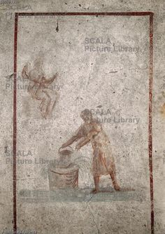 Cristo e la Samaritana catacomba S. Callisto