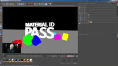 a cool tip for automatically apply different solid colors for making a Color Mat ID pass in C4D (for AE compositing)