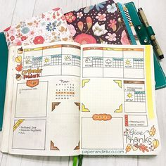 This week's #bulletjournalweeklylog a sneak peak at how I'll be bullet journaling in 2018! (Spoiler: its more of a what Ill be using rather than a how change )