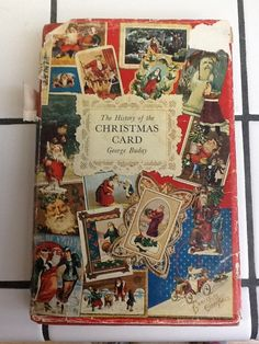 The History of the Christmas Card by George Buday, 1954