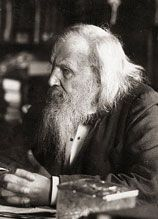 Famous Scientists - Dmitri Ivanovich Mendeleev  a Russian chemist and inventor. He formulated the Periodic Law, created his own version of the periodic table of elements, and used it to correct the properties of some already discovered elements and also to predict the properties of elements yet to be discovered.
