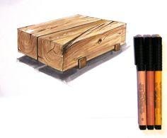 #sketching #interiorsketch #sketch #скетчинг #скетч #texture #wood #copicmarkers #эскиз #набросок #маркеры #интерьер
