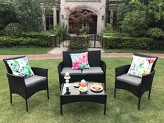 Our Eton range is like no other. Manufactured from PE rattan which can be kept outdoors all year round. Rattan Furniture, Garden Furniture, Outdoor Furniture Sets, Outdoor Dining, Outdoor Decor, Conservatory, Sofa Set, Dining Set, Relax