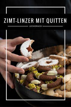 Zimt-Linzer mit Quittengelee-Füllung