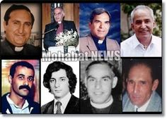 Christian martyrs killed by Islamic Regime of Iran. This list will increase, pray for them.