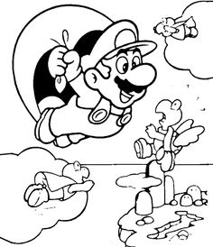 Free Printable Kirby Coloring Pages | HM Coloring Pages | applique ...