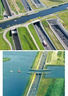 Under water tunnel~The Netherlands
