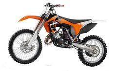KTM 150 SX Dirt Bike 2011