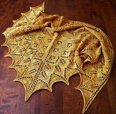 Free Pattern: Ashton Shawlette I think this looks like dragon wings