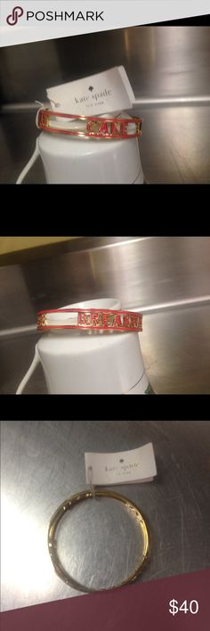 Kate Spade Eat Cake For Breakfast Bangle Bracelet NWT kate spade Jewelry Bracelets