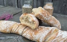 Wurzelbrot - Backen mit Christina Bread Baking, Side Dishes, Bakery, Brunch, Food And Drink, Snacks, Cooking, Desserts, Recipes