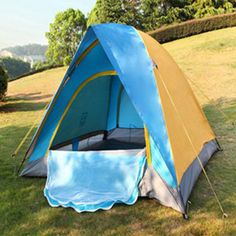 3 Season 2 Person Outdoor Camping Tent Double Layer Waterproof Windproof Hiking #AOTU