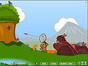 Like in Tanks or Worms you defeat opponents in this funny battle game. Throw stuff instead of using hi-tech weapons as you are in the Middle Ages.