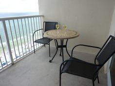 New balcony furnishings in 2011.