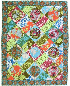 this is a free people quilt my grandmother was able to copy for my room in college