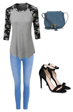 """""""Untitled #1"""" by punkie707 ❤ liked on Polyvore featuring Paige Denim, LE3NO, STELLA McCARTNEY and Nanette Lepore"""