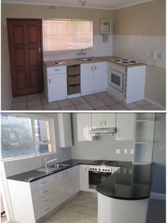 Small apartment kitchen renovation