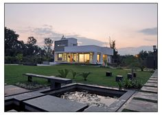 indian farm house architecture - Google Search