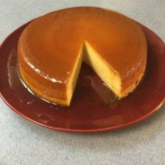 Creamy Caramel Flan Recipe - This flan has condensed and evaporated milk as well as cream cheese to give it a thicker texture. Caramel Flan, Caramel Recipes, Creme Caramel, Spanish Flan Recipe, Spanish Recipes, Mexican Recipes, Baked Flan Recipe, Mexican Flan, Cream Cheese Flan