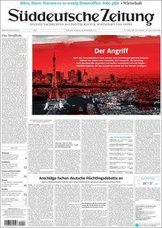 Süddeutsche Zeitung du 16 novembre 2015