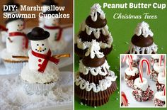 The Handcrafted Christmas: Fabulous Festive Food - Winter Wonderland Trees, Snowmen and Candy Canes oh my!