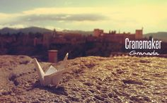 What would happen if we left paper cranes that remind us that no one can deny our chance to love? #Cranemaker
