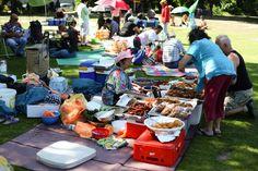 Thai Food Wiese im Preußenpark