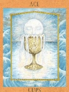 Empowering Tarot ace of cups