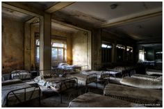"""""""Dreams and Nightmares"""" by Vincent-Jansen.nl, via Flickr...An orphanage in Italy, abandoned since 1979 and left (almost) untouched ever since."""