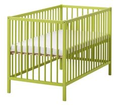 """The Crib And Bedding: My """"green"""" Nursery Challence"""
