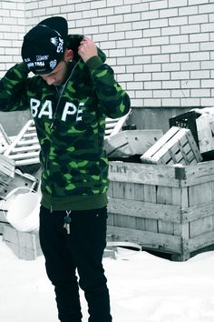   BAPE X BEEN TRILL  