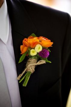 Boutonnieres for the Boys, Wedding Flowers Photos by Jason+Gina Wedding Photographers