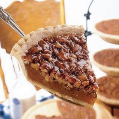 I can just image what this slice of pecan pie will taste like when it touches my tongue. Can you?