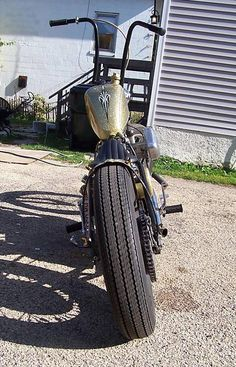 Photo of 1974 Custom Sportster Ironhead Bobber Motorcycle by Kyle.